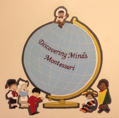 Discovering Minds Montessori School logo